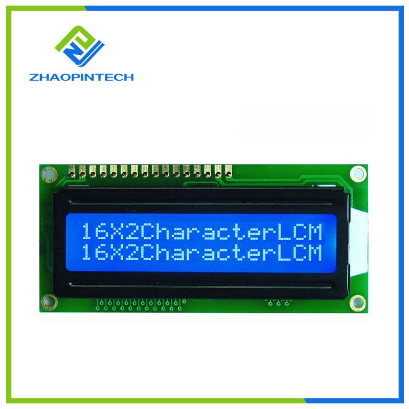 16x2 Character LCD Display